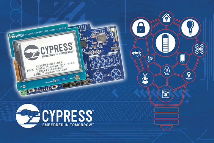 Low-power sensors with IoT: So easy with the CYPRESS PSoC6